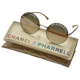 Chanel-Sunglasses-Golden