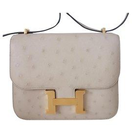 Hermès-Hermes bag Constance III-Beige