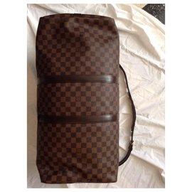 Louis Vuitton-keepall 55-Brown