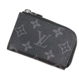Louis Vuitton-Louis Vuitton Portumone Jules Mens coin case M63536 black-Black