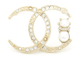 Chanel-MOONSTRUCK BROOCH-Golden