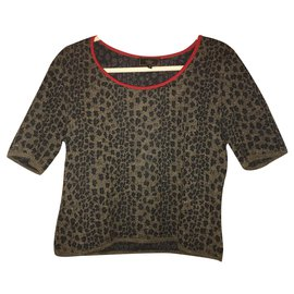 Fendi-Tops-Brown