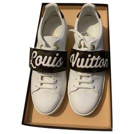 Louis Vuitton-Sneakers / Baskets Louis Vuitton-White