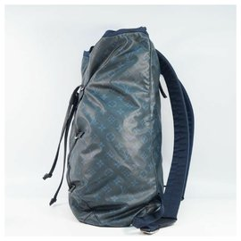 Louis Vuitton-Louis Vuitton Backpack Mens ruck sack Daypack M41707 cobalt-Other