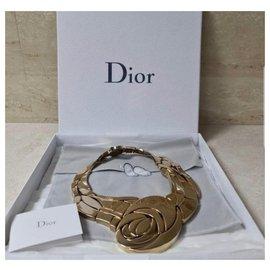 Dior-Collier Massif Floral Dior-Doré