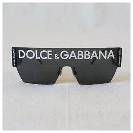 Dolce & Gabbana-Sunglasses-Black,White