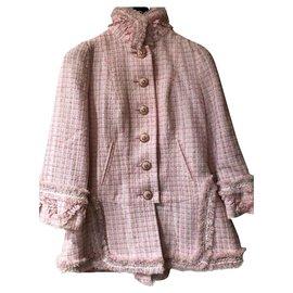 Chanel-Exclusive 8,5K$ jacket-Pink