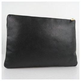 Céline-Céline Clutch Bag-Black