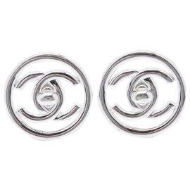 Chanel-CC SILVER CIRCLE XL-Argenté