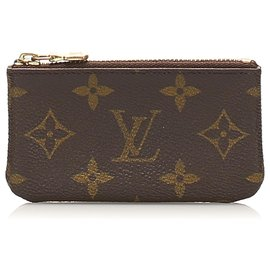 Louis Vuitton-Louis Vuitton Brown Monogram Key Holder-Brown