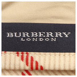 Burberry-Burberry Brown House Check Cotton Blanket-Brown,Multiple colors,Beige