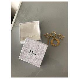 Dior-Charmes de sac-Bijouterie dorée