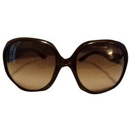 Dior-Des lunettes de soleil-Marron,Caramel,Marron foncé
