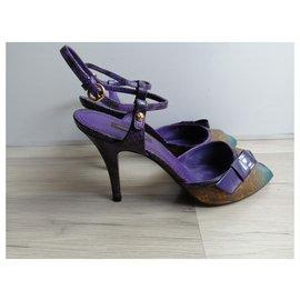 Louis Vuitton-Sandals-Brown