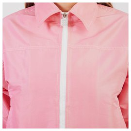 Chanel-track suit with shorts-Pink
