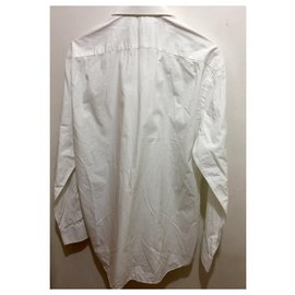 Valentino-Dress shirt by Valentino in white L/XL-White