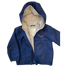 Diesel-Manteaux de garçon-Bleu