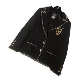 Chanel-Chanel jacket - The Devil wears Prada-Black