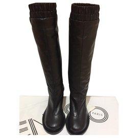Kenzo-Boots-Black