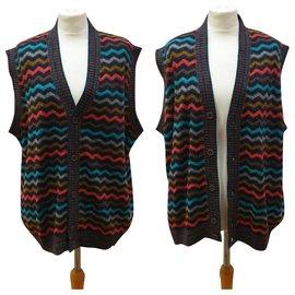 Missoni-Missoni vintage sweater vest-Multiple colors