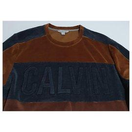 Calvin Klein-Sweaters-Brown,Multiple colors,Grey