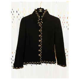 Chanel-7,2K$ luxurious jacket-Black