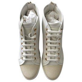 Louis Vuitton-Punchy sneaker Boot Louis Vuitton-White