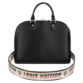 Louis Vuitton-LV Alma PM Epi-Black