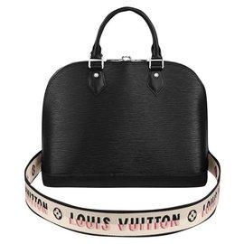 Louis Vuitton-LV Alma PM Epi-Preto