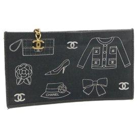Chanel-Chanel clutch bag-Black