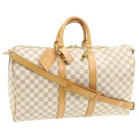 Louis Vuitton-Louis Vuitton Keepall 45-Blanc