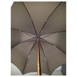 Dior-parapluie-Marron