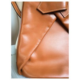 Eric Laville-Handbags-Cognac