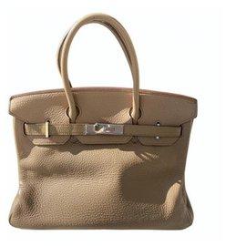 Hermès-Handbags-Caramel