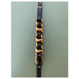 Chanel-Bracelets-Bijouterie dorée
