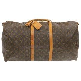 Louis Vuitton-Louis Vuitton Keepall-Marron