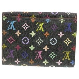 Louis Vuitton-Louis Vuitton Enveloppe Carte de visite-Black