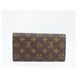 Louis Vuitton-Louis Vuitton portofeuilles Sarah Womens long wallet M61725-Other