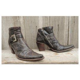 Free Lance-Free Lance p boots 40-Brown