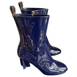 Louis Vuitton-Silhouettes-Blue