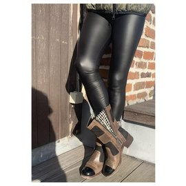 Chanel-Boots-Light brown