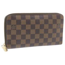 Louis Vuitton-Louis Vuitton Zippy Organizer-Brown