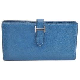 Hermès-Hermès Bearn-Blue