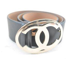 Chanel-CHANEL Belt-Black