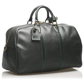 Louis Vuitton-Louis Vuitton Black Taiga Kendall PM-Black