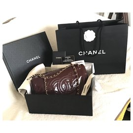 Chanel-Sacs à main-Bordeaux