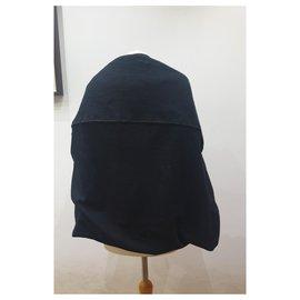 Chanel-Chanel black cape-Black