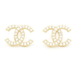 Chanel-MEDIUM GOLDEN CC RHINESTONES-Golden