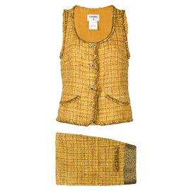 Chanel-Superb Runway Tweed suit-Multiple colors