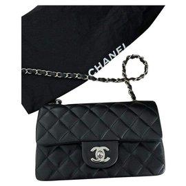 Chanel-Rectangular mini-Black